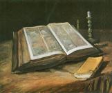 Vertrau der Bibel Banner
