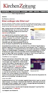 Screenshot der KiZ Hildesheim - Webreporter 6.9.2013