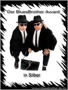 BluesBrother Award Silber