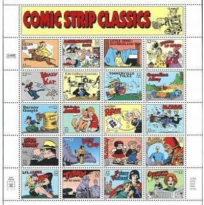 kompletter Briefmarkenbogen 1. Oktober 1995