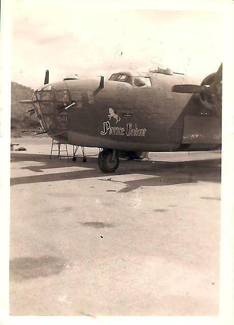 B-24D der U.S. Air Forces mit Prince Valiant Bemalung